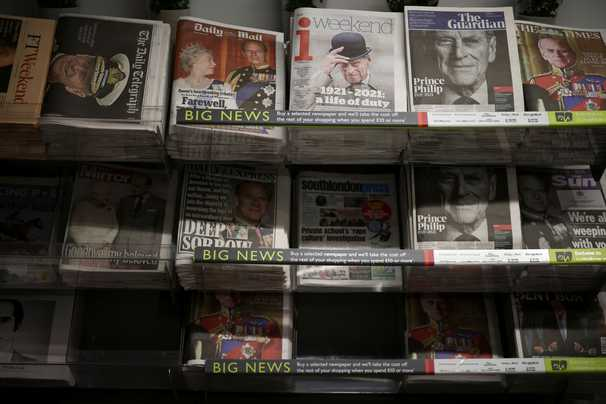 How British media is remembering Prince Philip's legacy