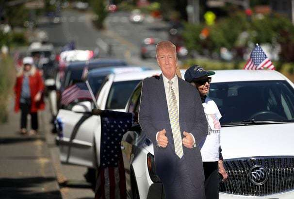 How much did Trump's presence on the ballot warp 2016 and 2020 polling?