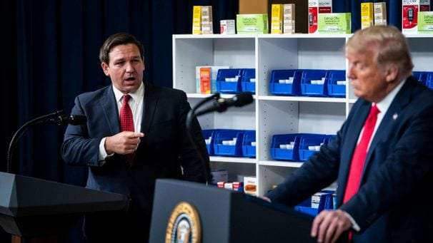 How Ron DeSantis's critics are turning him into a hero for the right