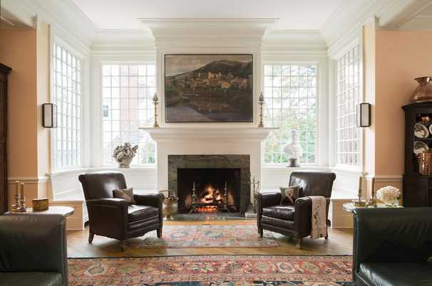 It's a fine old Maryland house, and it's next door to Chevy Chase Club