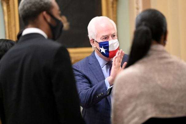 John Cornyn's ugly, transparent attempt to paint Biden as a Manchurian Candidate