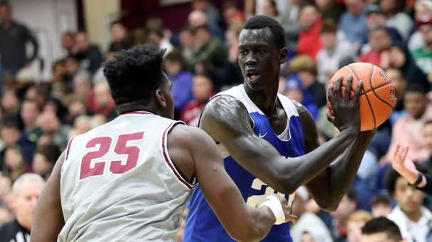 Makur Maker's basketball journey took a detour, but his story isn't over