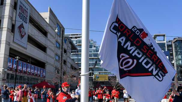 One unforgettable day at Nationals Park was the culmination of 18 months — and 50 years — of waiting