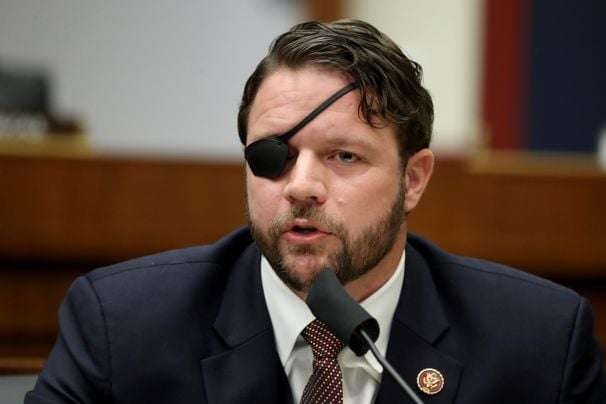 Rep. Dan Crenshaw 'effectively blind for about a month' after emergency eye surgery, he says