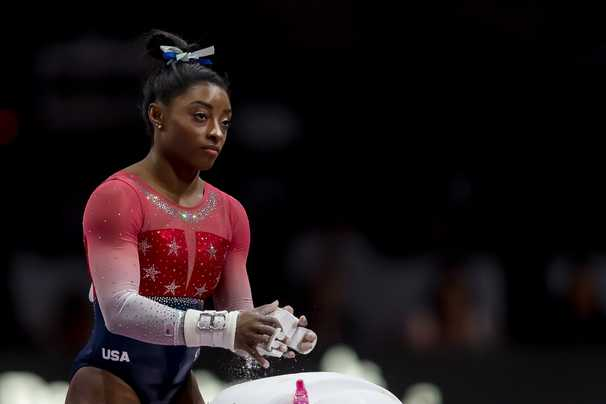 Simone Biles, the world's most dominant gymnast, has something new for Tokyo