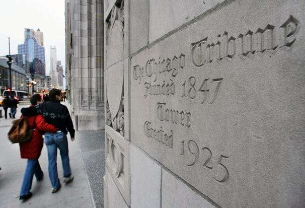 Swiss billionaire backs out of offer to buy Tribune Publishing Co.