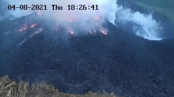 Volcano on St. Vincent erupts, spewing column of ash amid evacuations