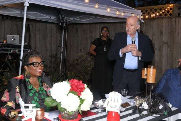 Bustin' loose from the pandemic: A birthday party with D.C. power brokers shows what celebrations might look like