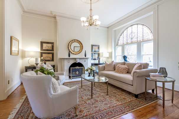 Capitol Hill rowhouse is 'silent writing partner'