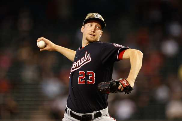 Erick Fedde, who may soon be out of the Nationals' rotation, dazzles against the Diamondbacks
