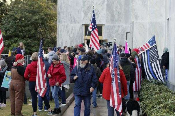 GOP lawmaker charged with 'knowingly' letting rioters breach the Oregon Capitol