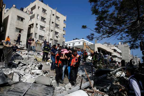 Israeli airstrikes kill 42 in Gaza as Biden, regional partners push for cease-fire