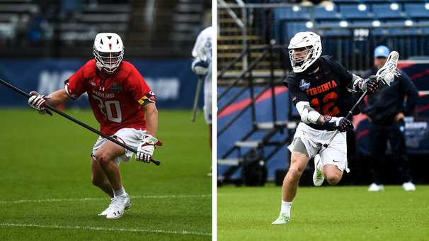 Maryland eyes perfection and Virginia seeks consecutive crowns in the men's lacrosse title game