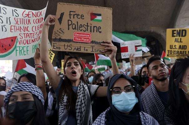 Supporters of a tougher line on Israel split over tactics and message