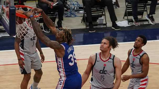 The 76ers are way too dominant, too determined and too good for the Wizards to handle