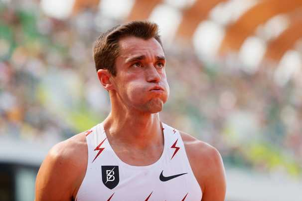 After his shoe came loose, a steeplechase runner used his wits to keep his Olympic dream alive