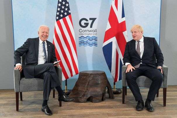 Biden, Boris Johnson agree to a revitalized Atlantic Charter in first meeting