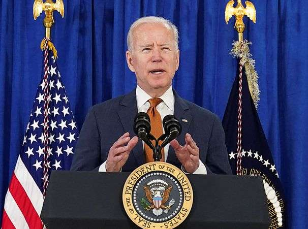 Biden says 'America is on the move again' as he touts latest jobs report, credits his policies