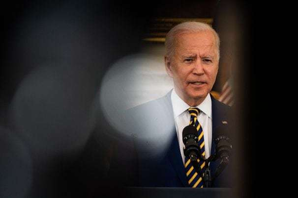Biden urges more Americans to get vaccinated but is silent on July 4 target