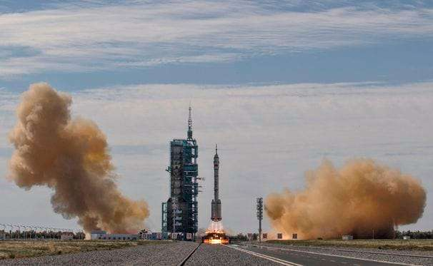 China launches first astronauts to its new space station, as race with U.S. heats up