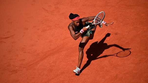 Coco Gauff, a fighter at 17, falls at the French Open but looks toward the future
