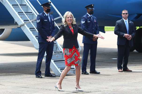 Covid-19 live updates: Jill Biden tours southern states to encourage vaccination as cases among the young mount