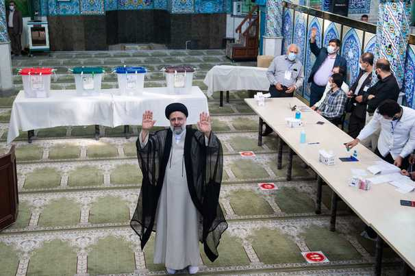Ebrahim Raisi, hard-line judiciary chief, poised to win Iran's presidential election after rivals concede, state media reports