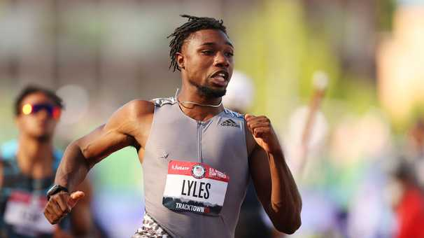 For Noah Lyles at the U.S. track and field trials, winning isn't everything