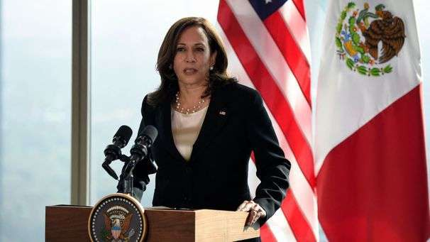 Harris says she will visit the U.S.-Mexico border, calls GOP criticism 'shortsighted'