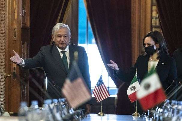 Harris wraps up a Latin America trip that featured sharp words to would-be immigrants