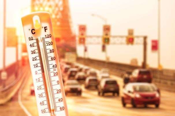 How to travel during extreme heat