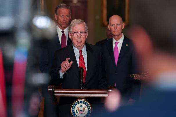 McConnell vows to block voting legislation, spurning Manchin's compromise offer