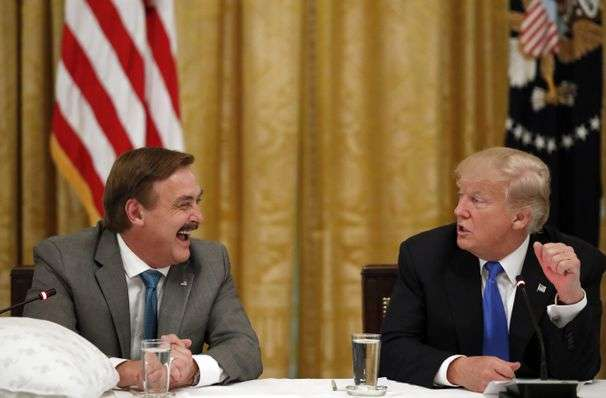 Mike Lindell has become the platonic ideal of a Trump supporter