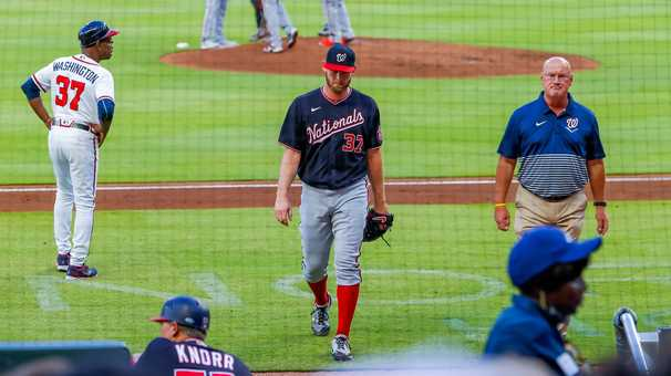 Nationals put Stephen Strasburg on IL, then go out and beat Braves