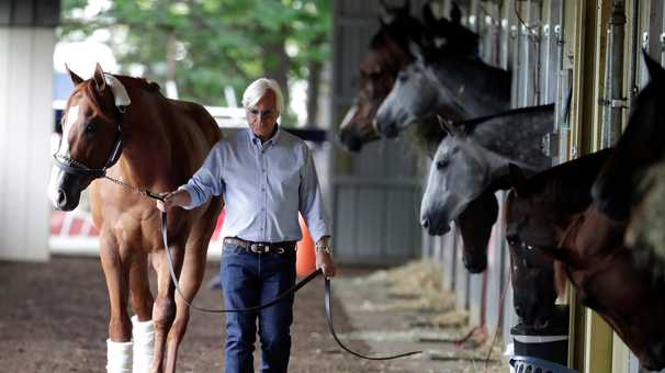 Officials worked secretly to clear Bob Baffert's Justify amid 2018 Triple Crown run, records show