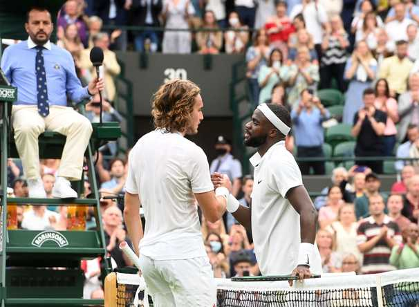 On Wimbledon's long-awaited opening day, Frances Tiafoe stages the biggest upset
