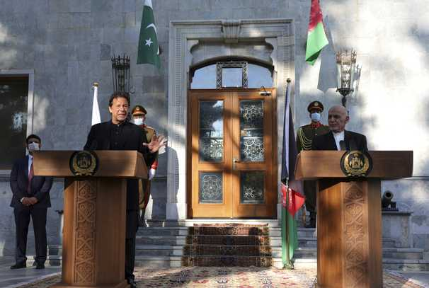 Pakistan is ready to be a partner for peace in Afghanistan, but we will not host U.S. bases