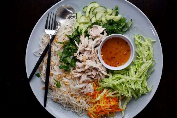 Recipes for rice noodle stir-fries and salads, to get you through thick and thin