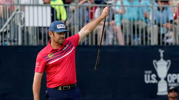 The U.S. Open heads into the final round with three leaders and a bunch of scary lurkers