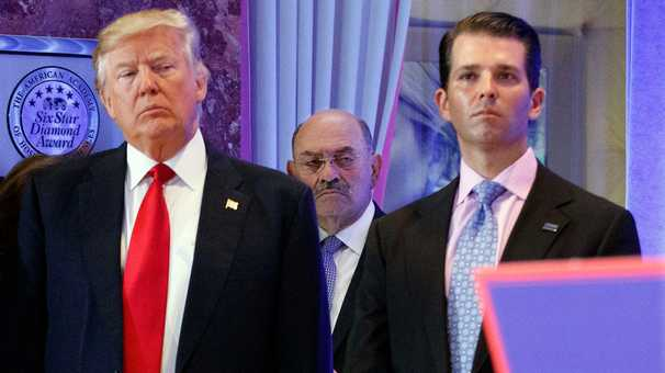 Trump and his CFO Allen Weisselberg stay close as prosecutors advance their case