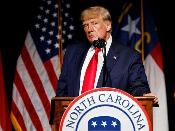 Trump's baseless claim about ballot drop boxes in Fulton County, Ga.