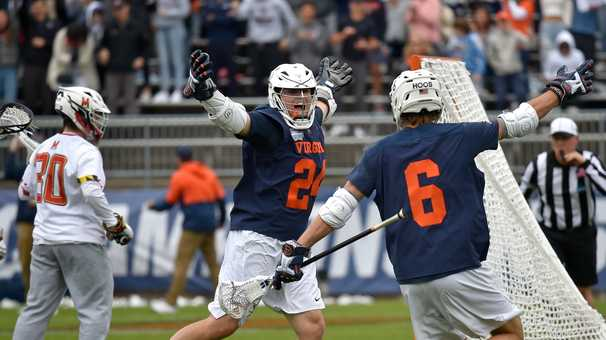 Virginia men's lacrosse holds off Maryland to win its second straight national title