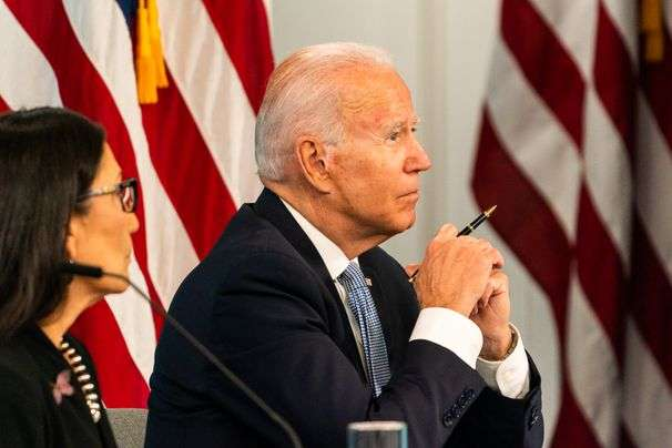 Biden pledges better pay for firefighters as he hosts virtual meeting of Western governors