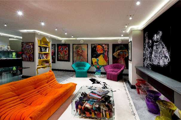 Chevy Chase, Md., condo is a showcase for art