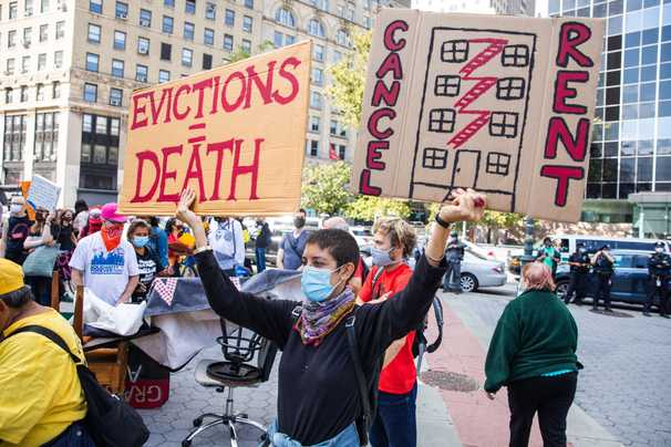 Evictions are about to restart as tenants wait on billions in unspent rental aid