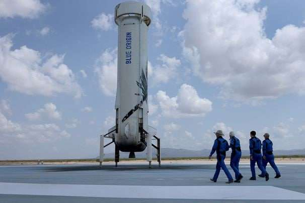 Going to space for fun? You should be taxed, lawmaker says.