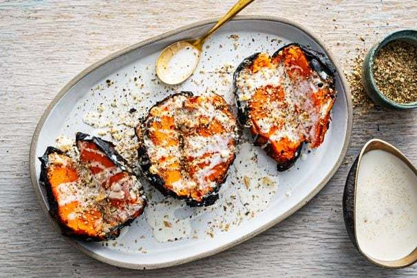 How to ember-grill sweet potatoes for smoky, caramelized flavor