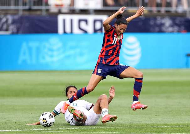 In its final Olympic tuneup, U.S. women's national team looks ready for Tokyo