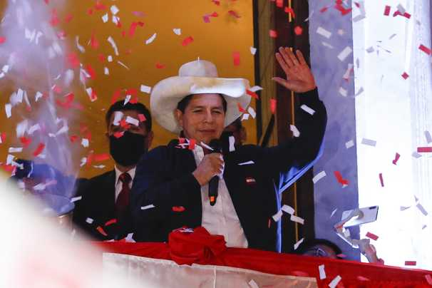 In Peru, a rural schoolteacher rises from obscurity to the presidency