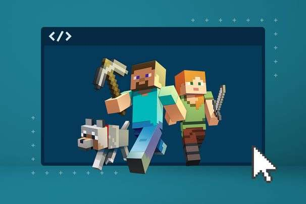 Long-time players are making money building for 'Minecraft'